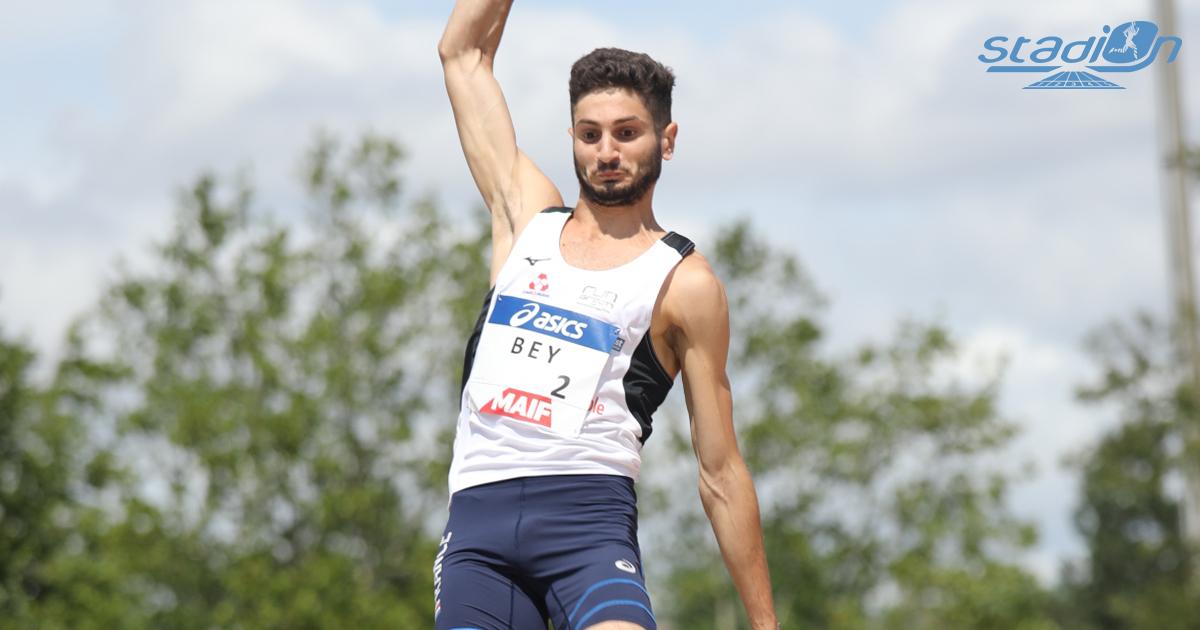 Augustin Bey et Jean-Marc Pontvianne ont frappé fort en s'envolant respectivement à 8,03 m en longueur et 17,03 m au triple saut.