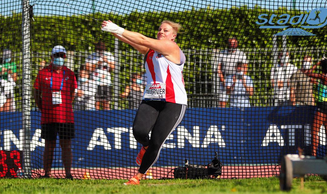 Athlétisme : Encore un record pour Alexandra Tavernier !