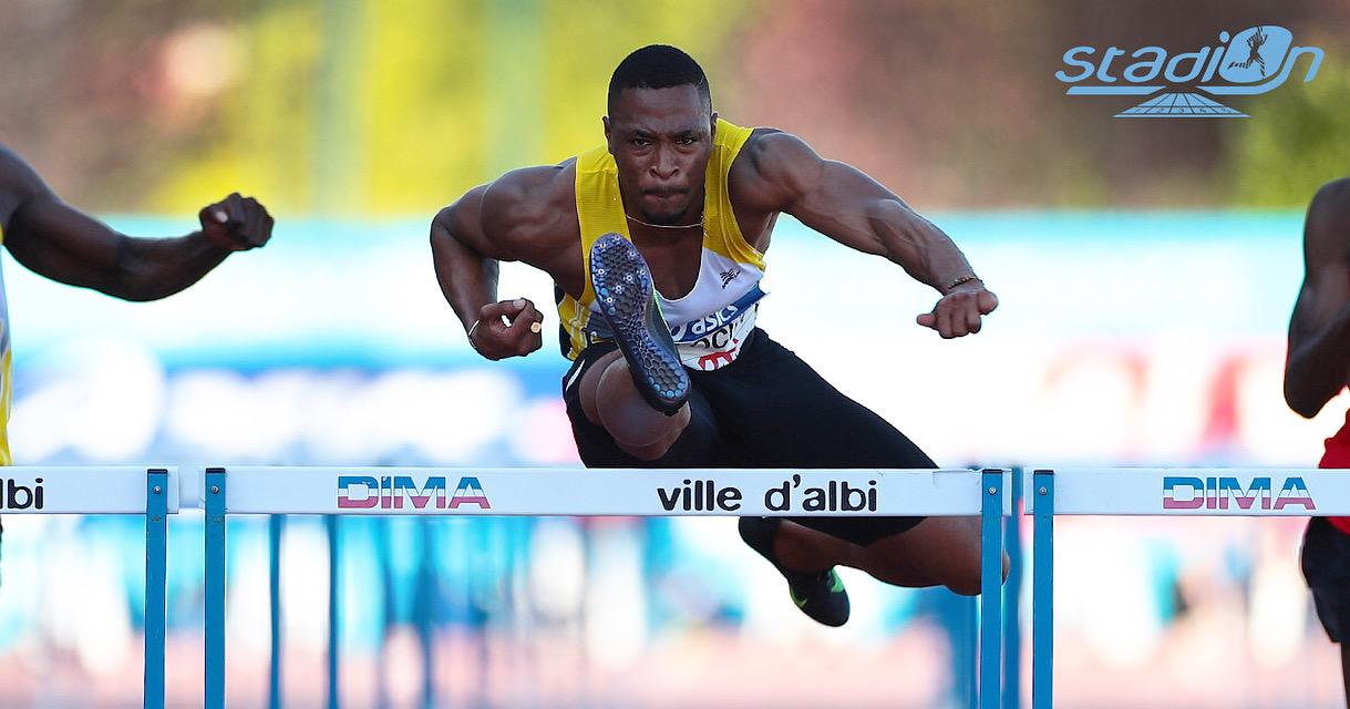 """Deux jours après avoir été sacré champion de France Elite à Albi, Wilhem Belocian s'est imposé sur 110 m haies en 13""""32 au Meeting de Zagreb, ce mardi soir."""