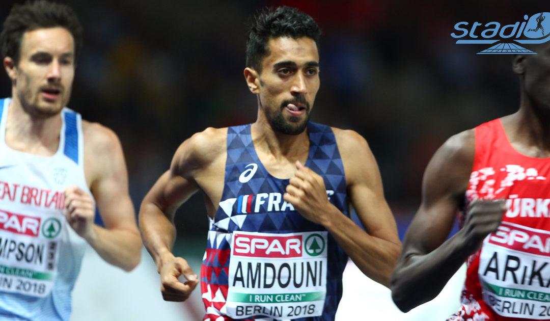 Record de France de l'heure pour Morhad Amdouni