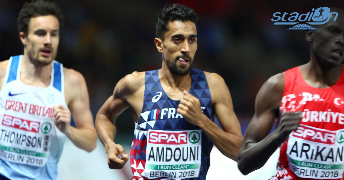 Morhad Amdouni a dignement fêté ses retrouvailles avec la piste en s'offrant le record de France de l'heure (20 772 m), samedi à Lucciana, en Corse.