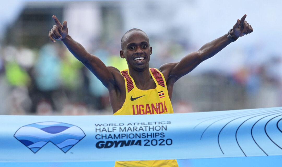Mondiaux de semi-marathon : Jacob Kiplimo et Peres Jepchirchir sacrés