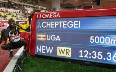 Suivez en direct la tentative de record du monde du 10 000 m de Joshua Cheptegei