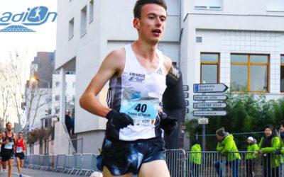 Running : Yann Schrub dans le vent à Nancy