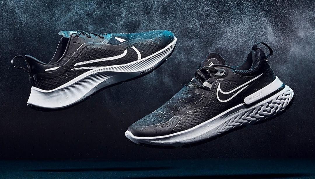 La Nike Air Zoom Pegasus 37 Shield vous permet de réaliser votre entraînement quotidien, même par temps humide.
