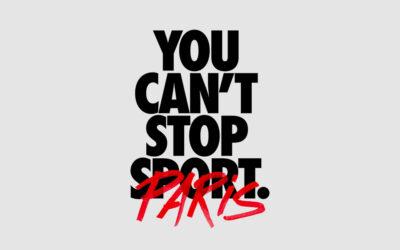 "Nike Running lance la course virtuelle ""You Can't Stop Paris"""