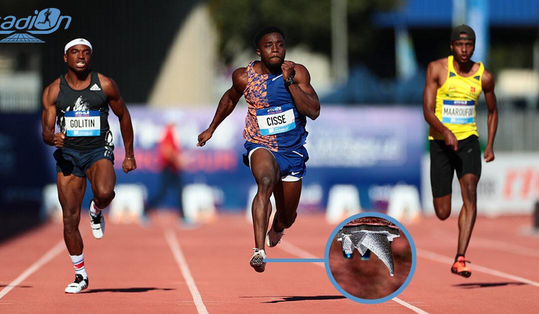 Smart Power invente les pointes d'athlétisme orientables