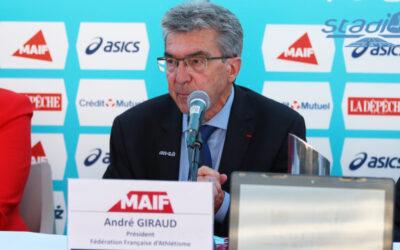 André Giraud réélu président de la Fédération Française d'Athlétisme