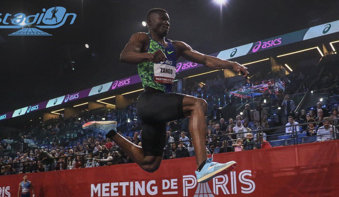 Record du monde en salle du triple saut pour Hugues Fabrice Zango avec 18,07 m