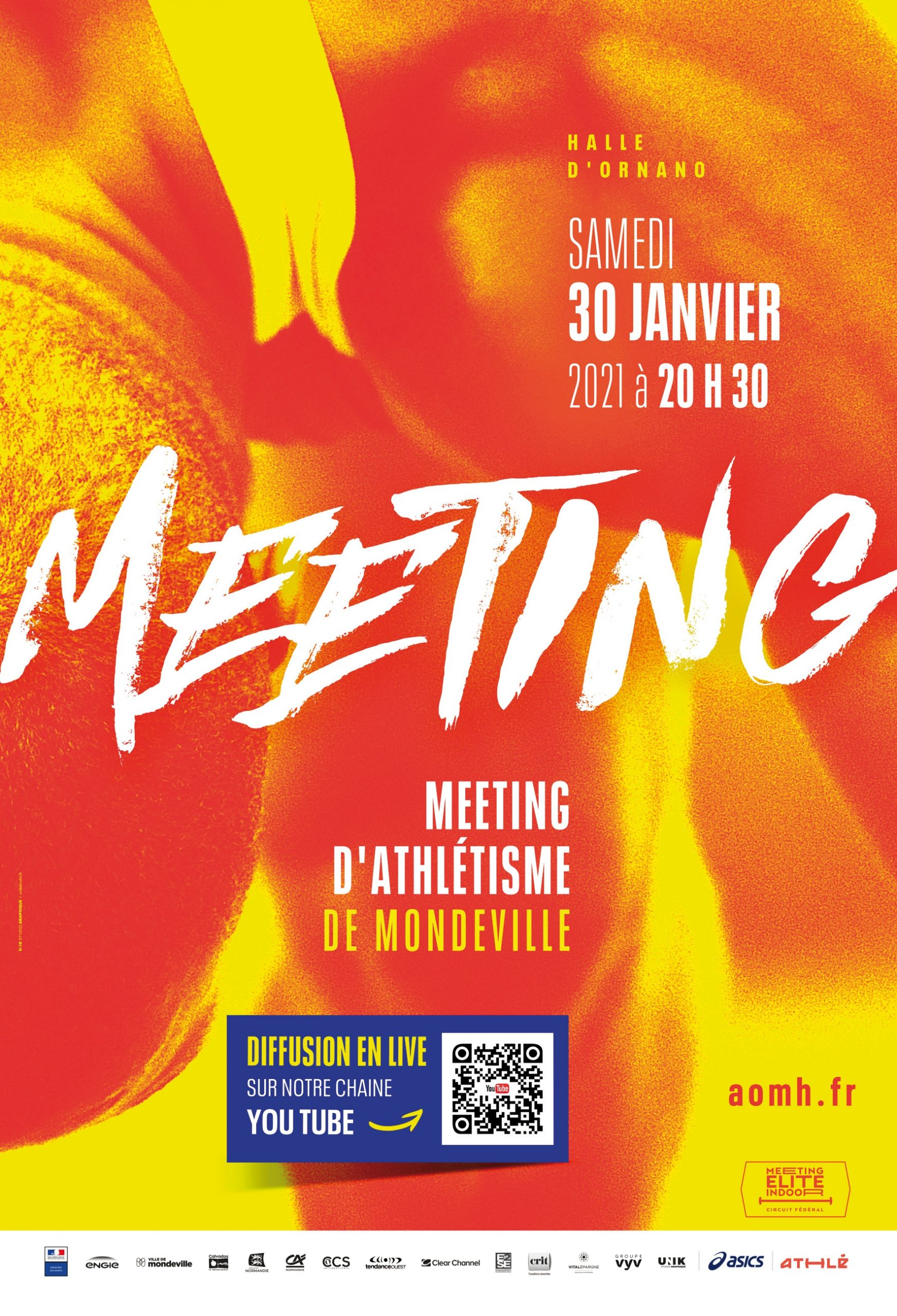 MEETING MONDEVILLE ATHLETISME 2021