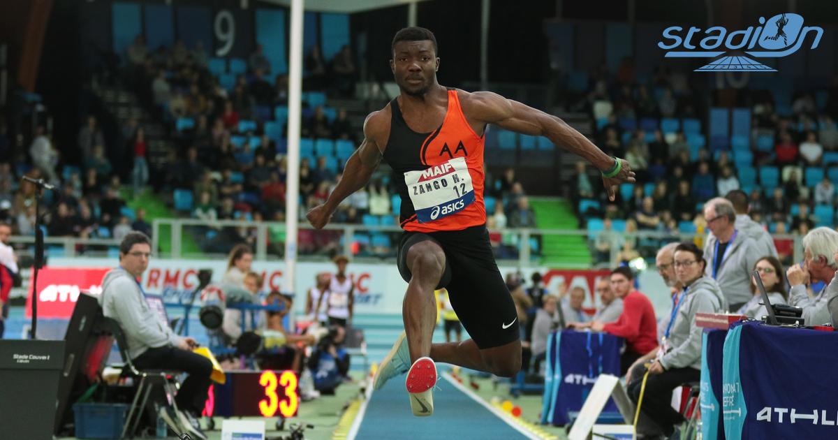 Le Burkinabé Hugues-Fabrice Zango sera l'une des attractions de la compétition, où toute la planète athlé se prépare pour un nouveau record du monde du triple saut en salle qu'il a porté à 18,07 m à Aubière le week-end dernier.