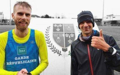 """100 x 400 mètres : La séance """"Zatopek"""" de Mehdi Frère et Faustin Guigon"""