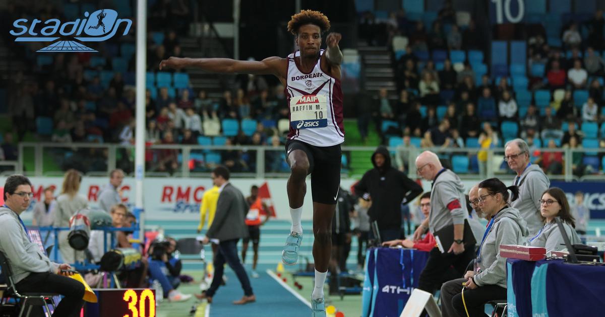 Le week-end de compétitions indoor réservées aux athlètes inscrits sur listes ministérielles a permis à plusieurs athlètes français de réaliser une bonne rentrée. À commencer par Melvin Raffin qui a bondi à 16,97 m au triple saut, se débarrassant des minima pour les Championnats d'Europe en salle de Torun.