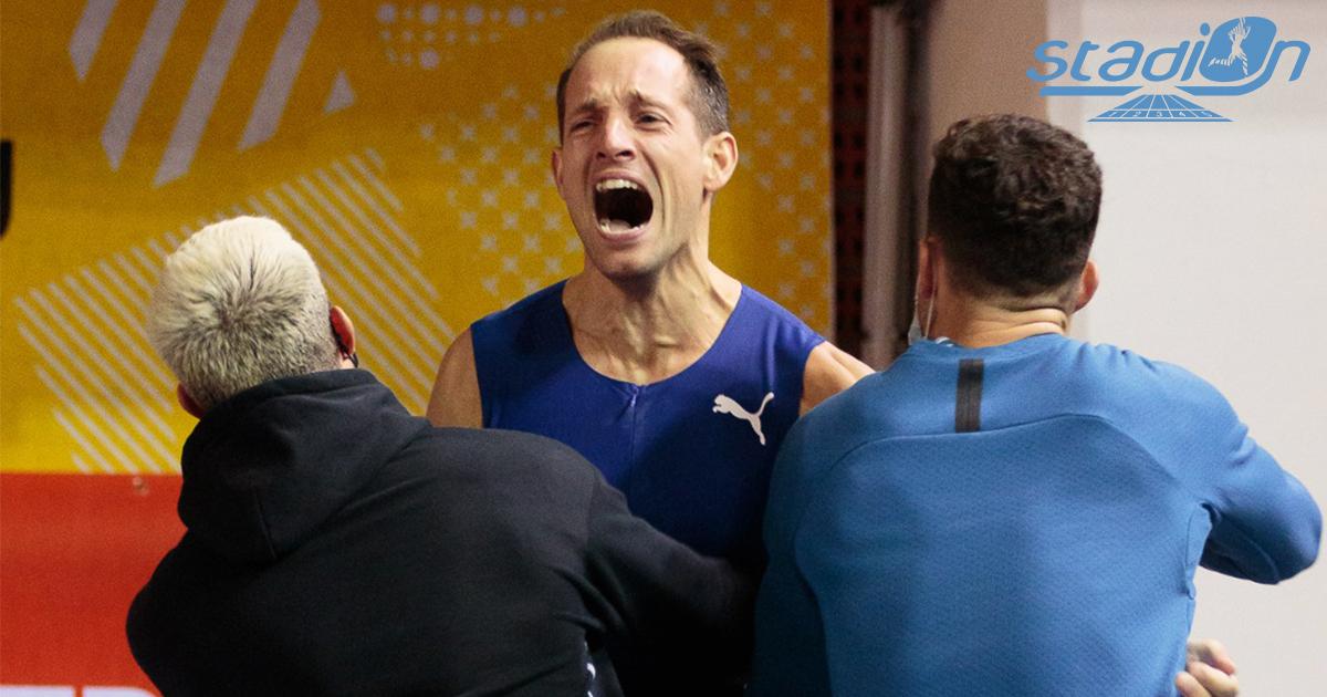 Phénoménal ! Renaud Lavillenie a réussi un saut à 6,02 m ce dimanche lors du Perche en Or de Tourcoing, passant pour la première fois depuis mars 2016 la barre symbolique des six mètres.