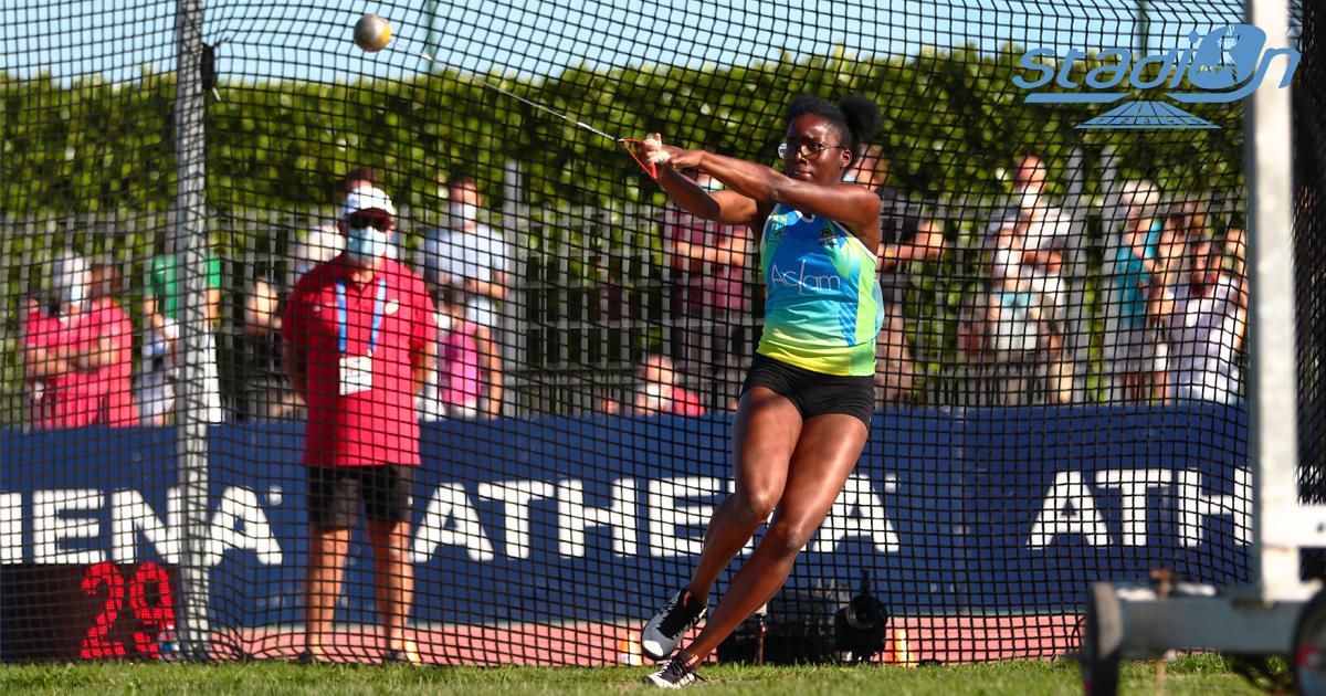 """Rose Loga et Thomas Marques de Andrade se sont respectivement emparés du record de France du marteau juniors (71,09 m) et du 800 m cadets (1'51""""89)."""