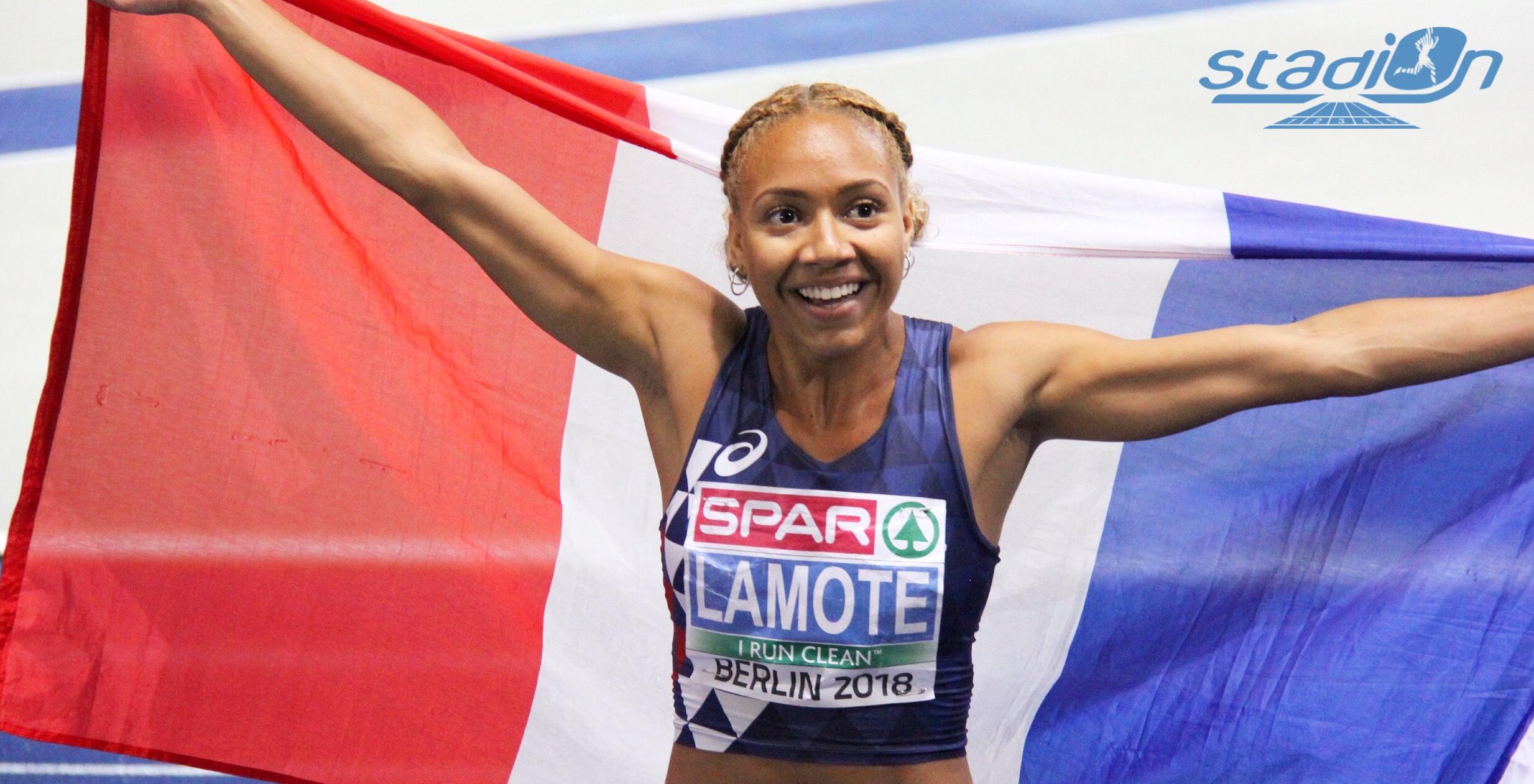Après huis saisons passées au club du Pays de Fontainebleau Athlétisme, la triple vice-championne d'Europe du 800 m Rénelle Lamote a décidé de poursuivre sa carrière sous les couleurs du Racing Multi Athlon.
