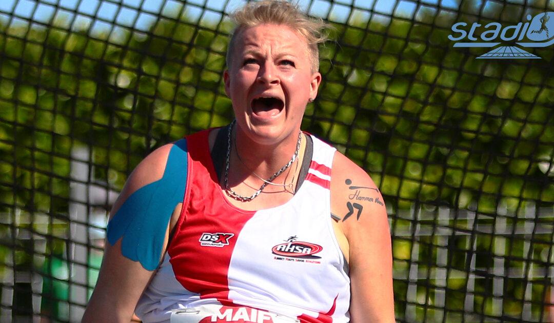 Championnats de France de lancers longs : Alexandra Tavernier enfonce le clou