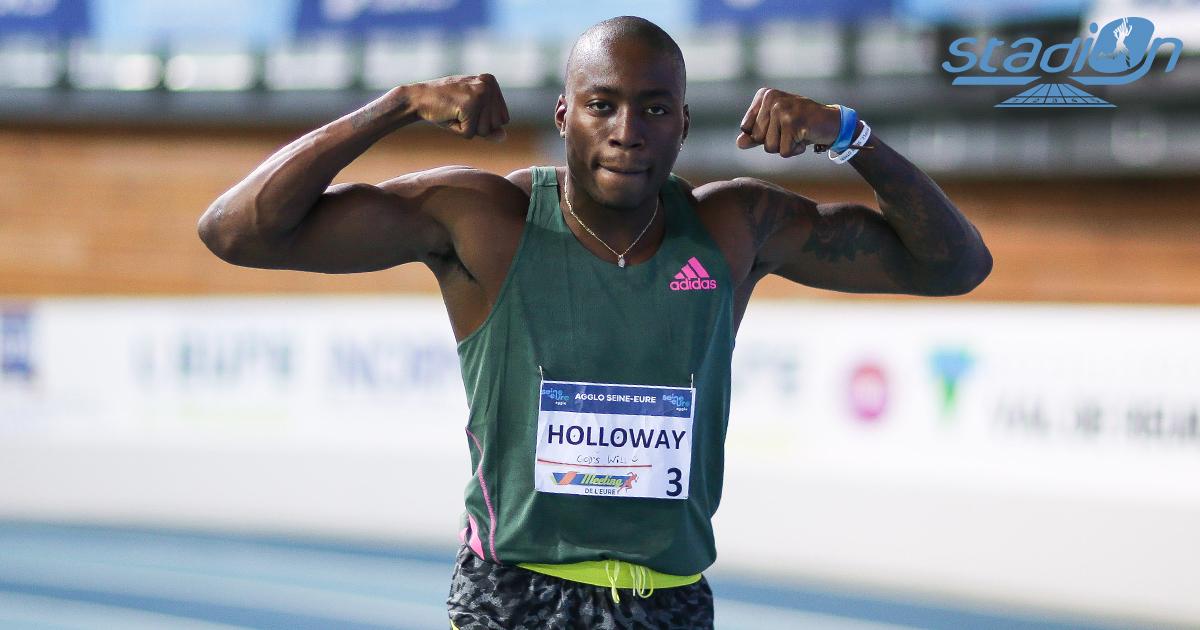 En réalisant un chrono de 7''29 lors du Meeting de Madrid ce mercredi, l'Américain Grant Holloway a amélioré le record du monde du 60 m haies d'un centième, effaçant la marque planétaire de Colin Jackson en 1994.