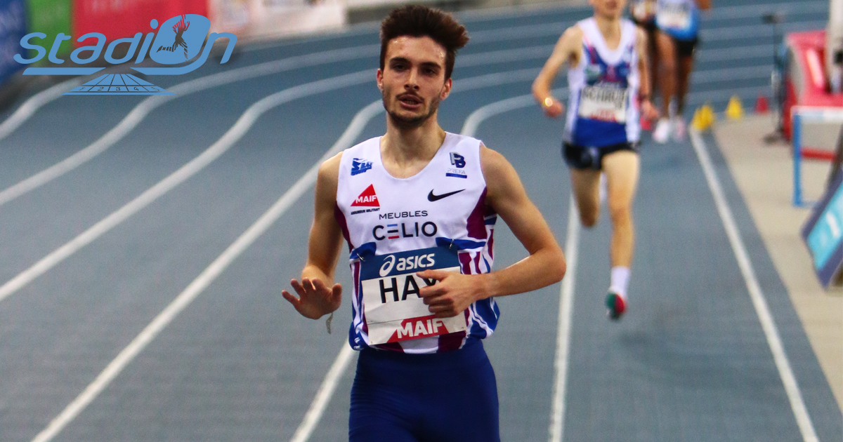 La première journée des Championnats de France Elite en salle à Miramas a décerné ses premiers titres nationaux. Hugo Hay et Alice Finot ont décroché les titres sur 3000 m et devraient être du voyage aux Europe de Torun.