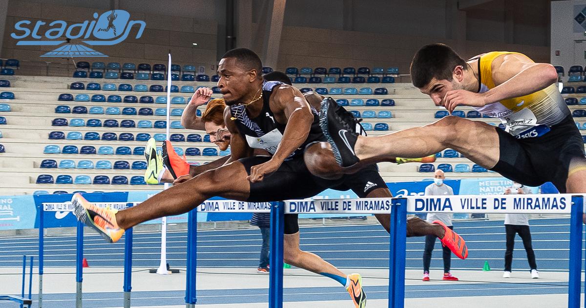 Le Meeting Metz Moselle Athlélor sera retransmis en direct ce samedi à partir de 14h45 sur notre page Facebook grâce aux images mises à disposition par les organisateurs. Vous pourrez notamment suivre les prestations des athlètes de l'équipe de France Floria Gueï sur 400 m, Wilhem Belocian sur 60 m haies et Christophe Lemaitre qui doublera 60 m et 200 m.