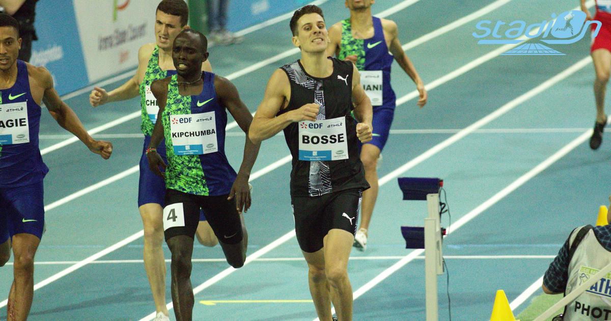 """Pierre-Ambroise Bosse n'a pas réussi à prendre le record d'Europe du 600 m à Gand samedi. Le champion du monde du 800 m en 2017 signe un chrono de 1'16""""61, assez loin de la meilleure marque continentale (1'15""""12)."""
