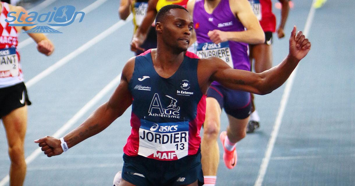 """Riche journée ce samedi aux Championnats de France Elite en salle à Miramas. Thomas Jordier s'est superbement offert le titre sur 400 m dans le chrono de 46""""13, meilleure performance européenne de l'année."""