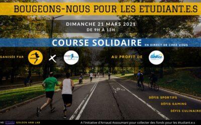 «Bougeons-nous pour les étudiant.e.s», la course solidaire d'Arnaud Assoumani