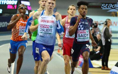 Fabrisio Saïdy : « Les études en parallèle de l'athlétisme »