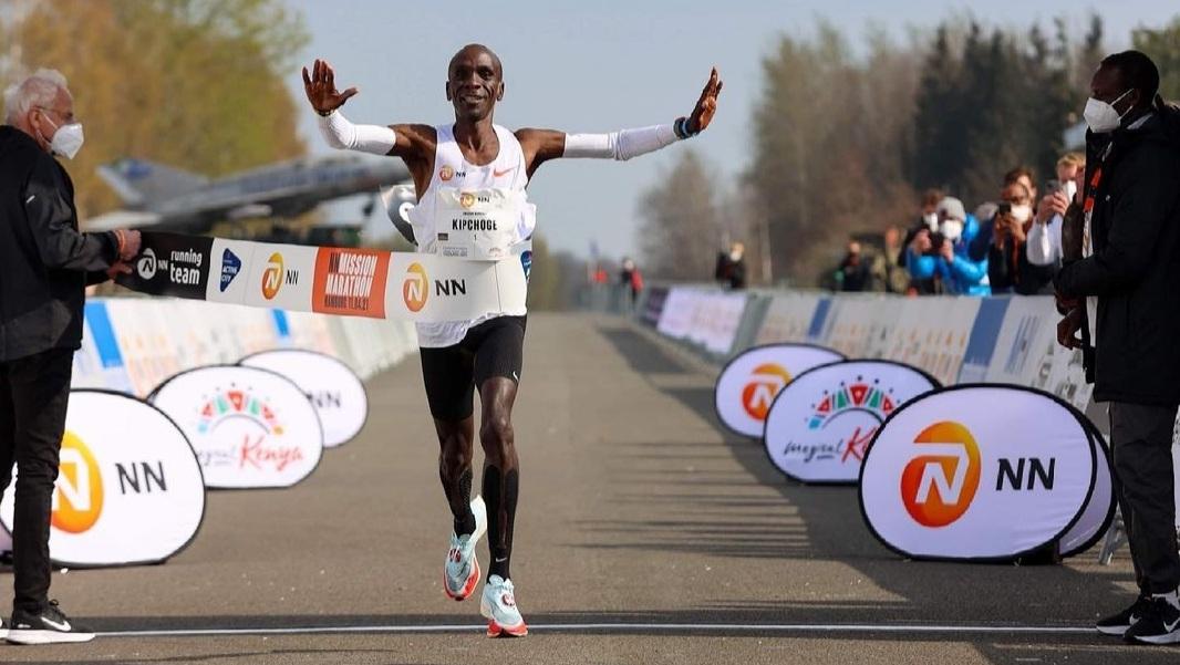 Marathon d'Enschede : Eliud Kipchoge peut s'envoler pour Tokyo !