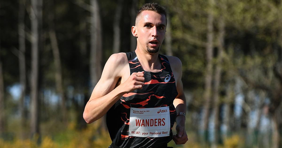 À l'occasion de la course ASICS Be(at) Your Personal Best, on attendait de Julien Wanders qu'il fasse une performance sur 5 km à Morton.