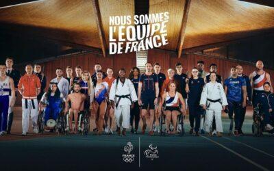 Les athlètes français olympiques et paralympiques unis à 100 jours des JO de Tokyo