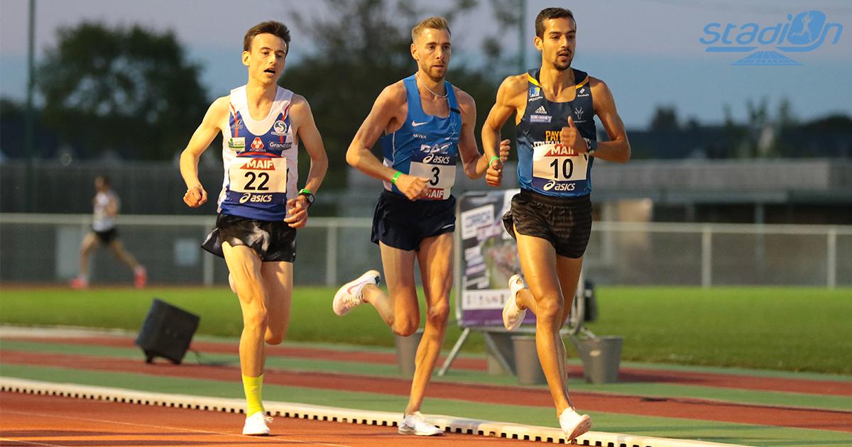 """Qualificatif pour la Coupe d'Europe du 10 000 m de Birmingham (5 juin), le Meeting de Pacé a vu François Barrer s'adjuger la victoire en 28'17""""06 devant Yann Schrub (28'22""""19) et Mehdi Frère (28'22""""32)."""