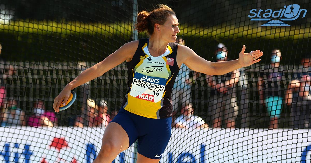 À moins de 100 jours des Jeux olympiques de Tokyo cet été, Mélina Robert-Michon s'est confiée en exclusivité pour Stadion sur ses objectifs.