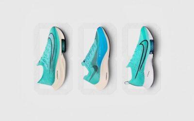 """Les Alphafly, Vaporfly et Tempo NEXT% de Nike se dévoilent dans un coloris """"Aqua"""""""