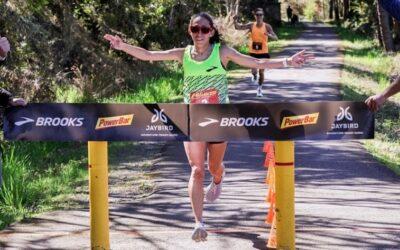 Record du monde du 50 km pour Desiree Linden en 2h59'54