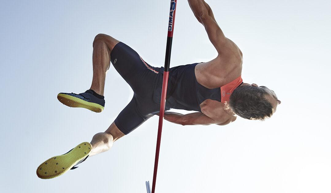 Decathlon présente l'AT HIGH JUMP, ses pointes de saut en hauteur