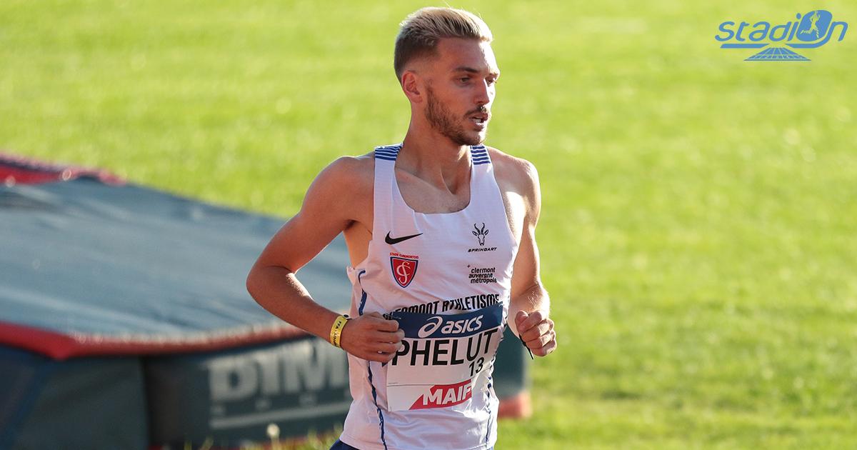 Le vice-champion d'Europe juniors en 2017 et espoirs en 2019 Alexis Phelut s'est acquitté des minima olympiques de Tokyo sur le 3000 m steeple en 8'18''67 à Oordegem (Belgique) samedi soir.