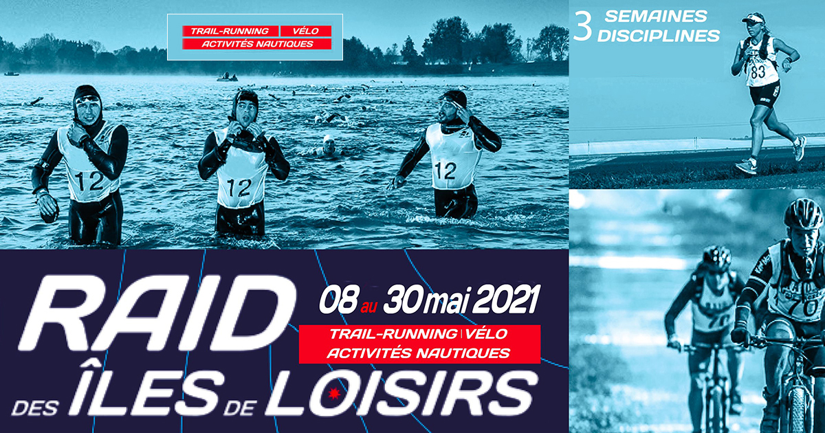 Lancée depuis le 8 mai 2021, la première édition du Raid des Îles de Loisirs, en version connectée, a déjà séduit de nombreux sportifs.