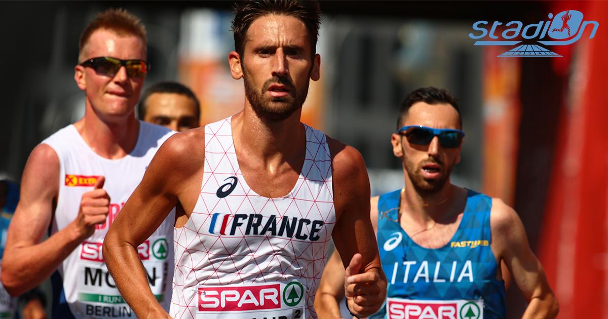 À l'occasion du Marathon de Milan (Italie) ce dimanche, Yohan Durand s'est classé vingt-et-unième en 2h12'27, son record personnel.