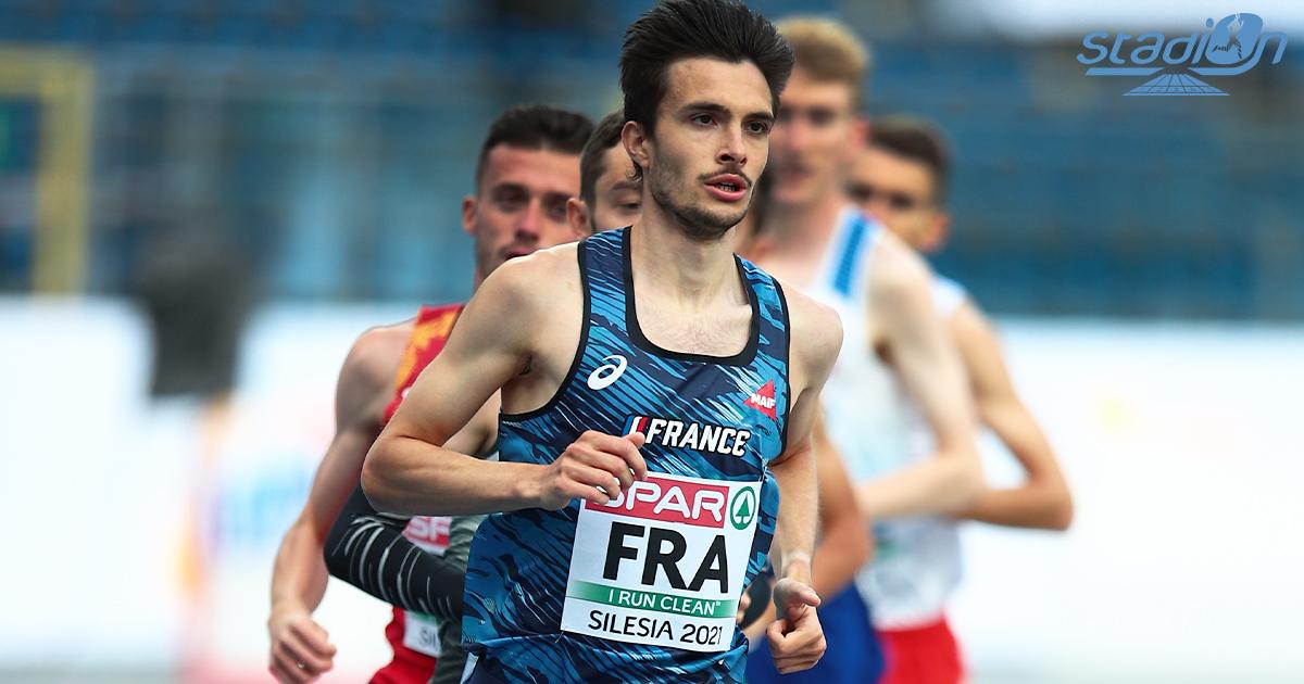 """Minima pour les Jeux olympiques de Tokyo, record personnel et victoire... Hugo Hay a fait coup triple ce mercredi soir en remportant le 5000 m dans le chrono de 13'10""""95 à Göteborg."""