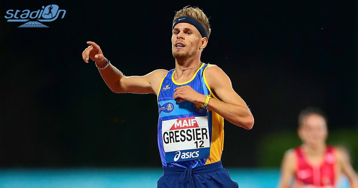 """Au lendemain des minima olympiques réussis par Hugo Hay sur 5000 m à Göteborg, Jimmy Gressier l'a imité à Huelva en bouclant la distance dans le superbe chrono de 13'08""""99."""