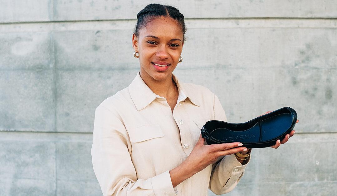 Coralie Gassama créée sa marque et invente la semelle KEY ONE