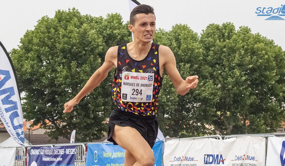 Meeting National de l'Est Lyonnais : Record de France pour Thomas Marques de Andrade