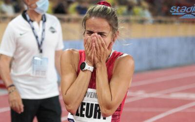 Meeting Herculis de Monaco : Aurore Fleury se révèle