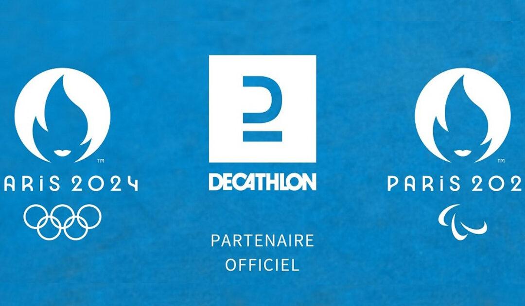 Decathlon devient partenaire officiel des Jeux olympiques de Paris 2024
