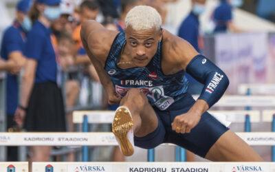 Sasha Zhoya s'offre le titre de champion d'Europe juniors du 110 m haies