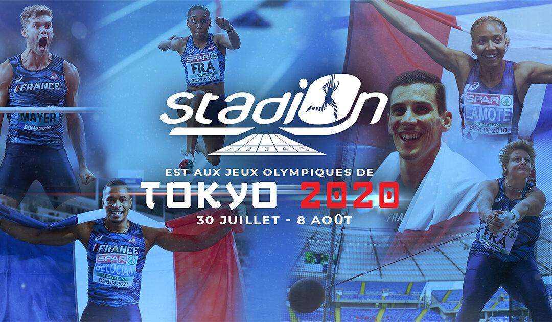 Athlétisme : Stadion aux Jeux olympiques de Tokyo