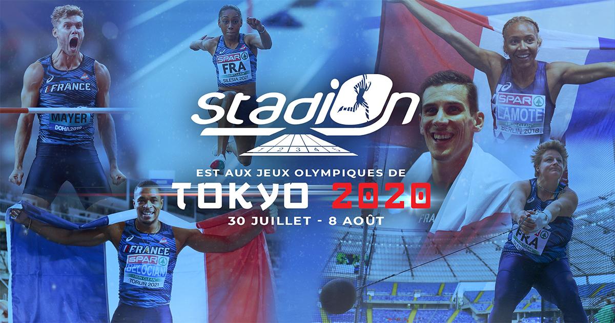Stadion a le plaisir de vous annoncer que votre média spécialisé dans l'actualité de l'athlétisme est accrédité pour les Jeux olympiques de Tokyo 2020.