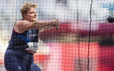 Jeux olympiques de Tokyo : Alexandra Tavernier tient sa finale au marteau