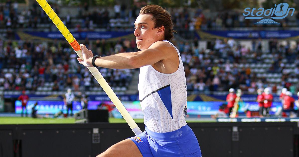 Dans un Stade Charléty chaud bouillant, Armand Duplantis a tenté de battre son propre record du monde (6,18 m), avec une barre à 6,19 m au Meeting de Paris.